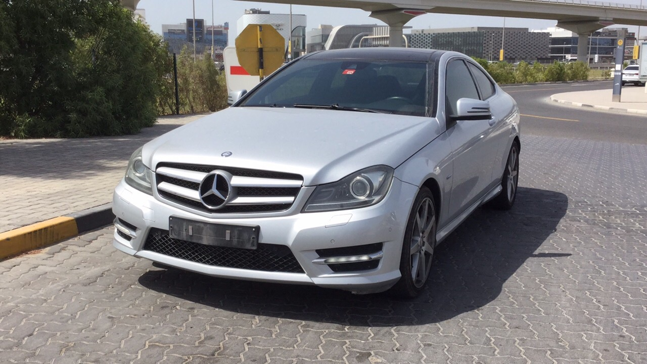 Used Mercedes-Benz C 250 Coupe 2012 For Sale In Dubai