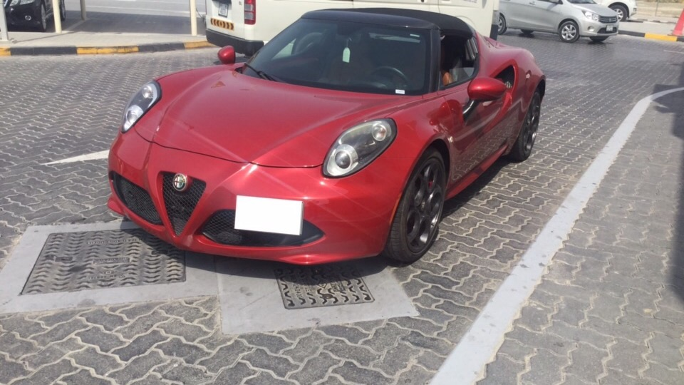 Used Alfa Romeo 4C 2016 for sale in Dubai