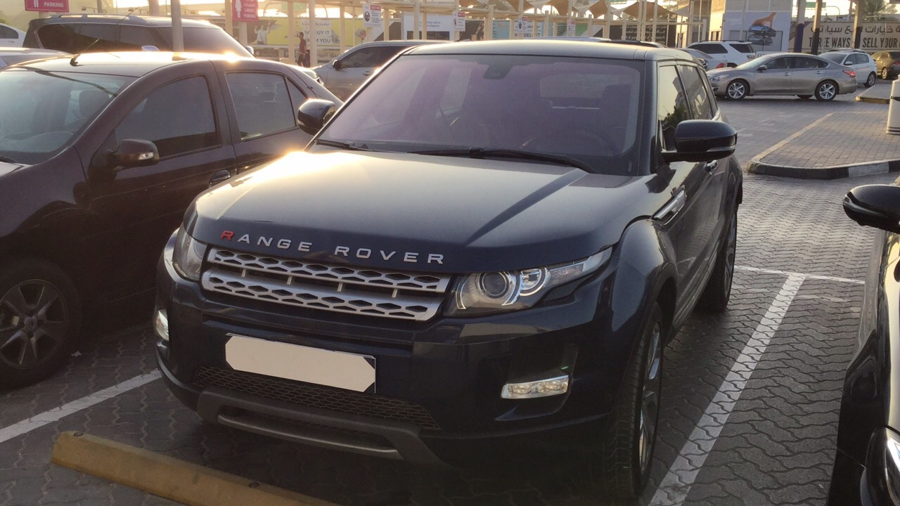 Used Land Rover Range Rover Evoque 2012 for sale in Dubai