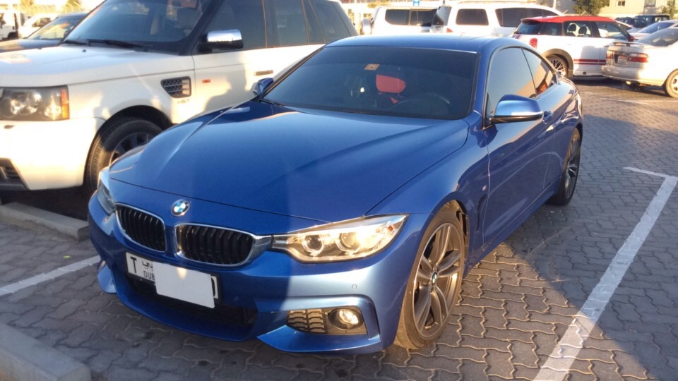Used BMW 4-Series 2016 for sale in Dubai