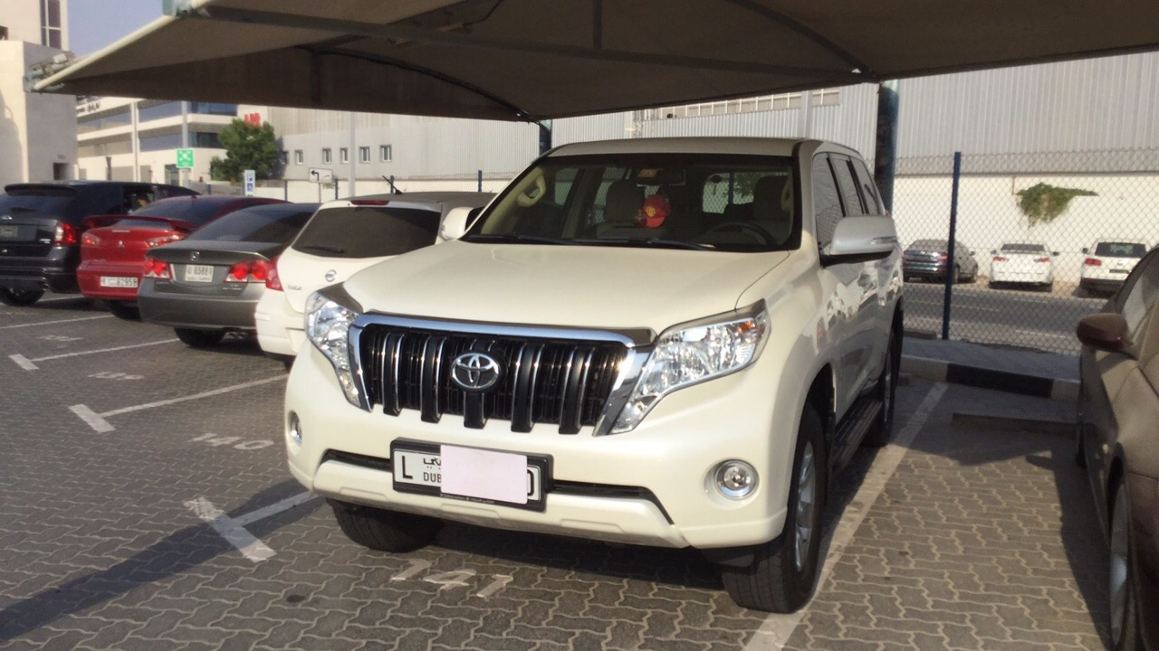 Used Toyota Prado 2015 for sale in Dubai