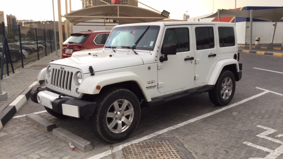 Used Jeep Wrangler Sahara 2016 For Sale In Dubai