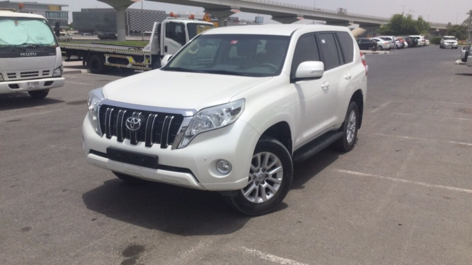 Used Toyota Prado 2017 for sale in Dubai