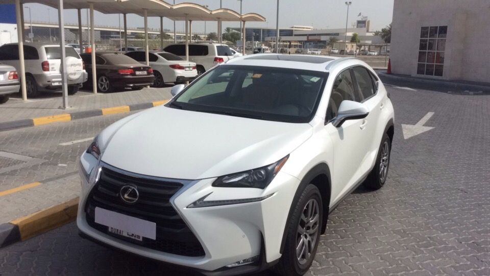 Used Lexus NX 2016 For Sale In Dubai