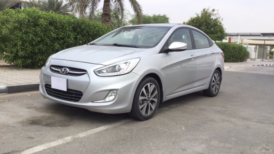 Used Hyundai Accent (1.6L) 2015 For Sale In Dubai