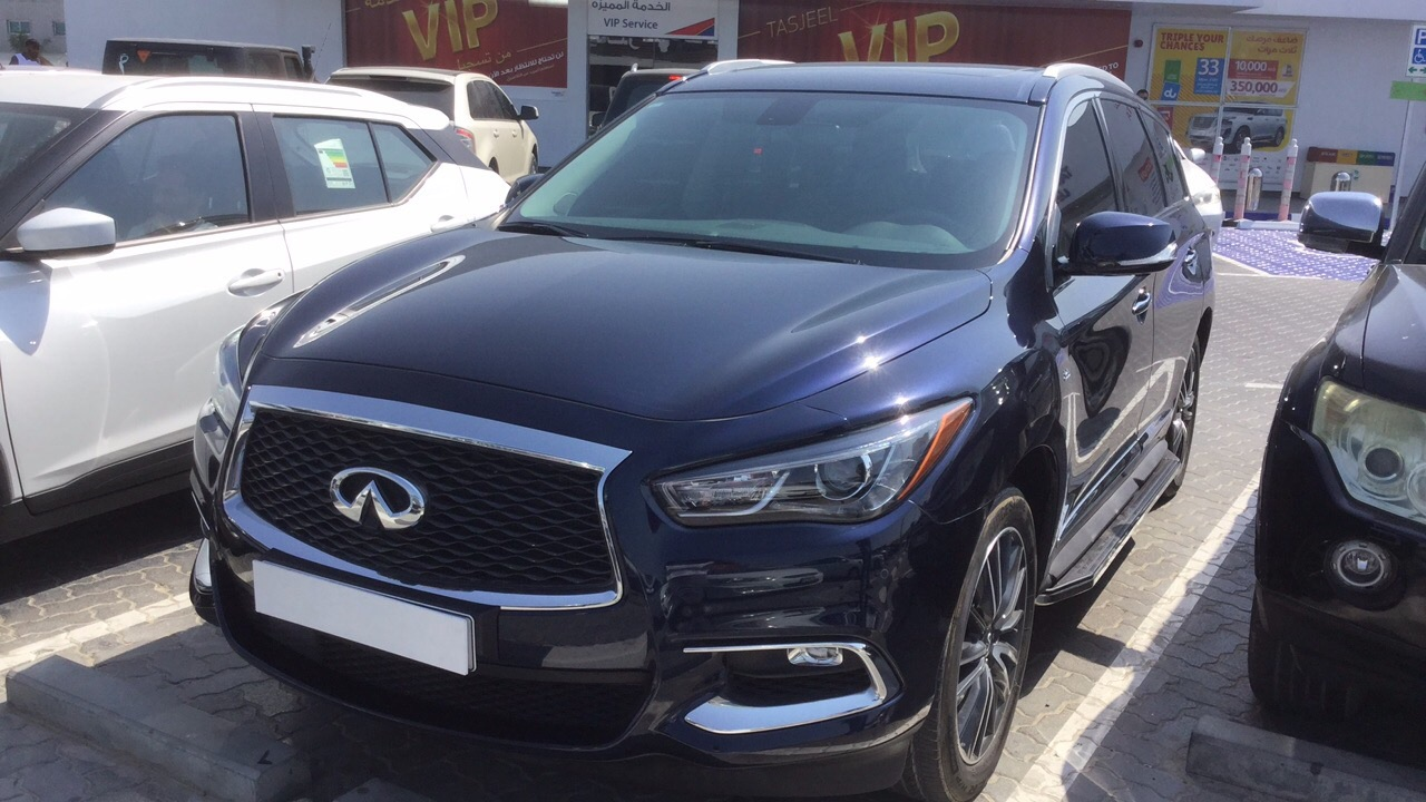 Used Infiniti QX 60 Luxury 2017 For Sale In Dubai