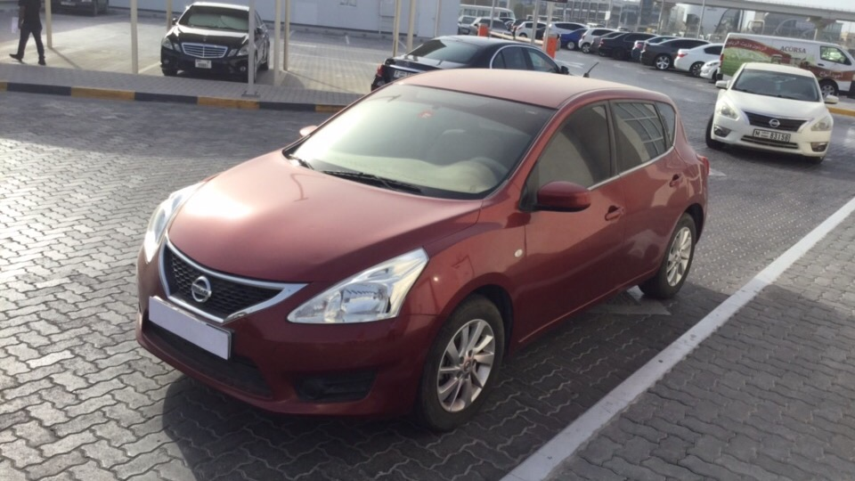 Used Nissan Tiida 2014 for sale in Dubai