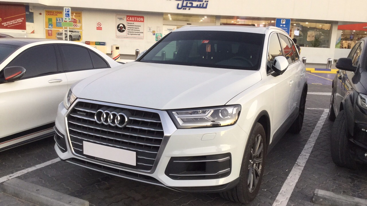 Used Audi Q7 2017 For Sale In Dubai