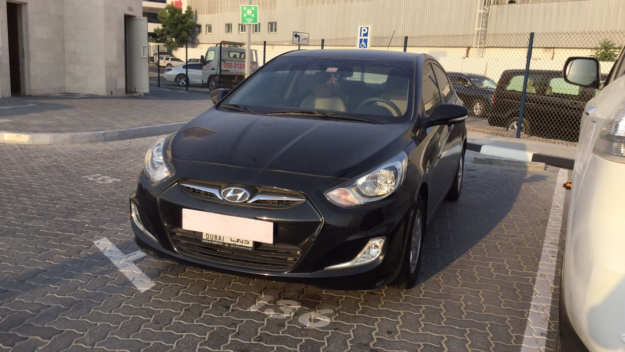 Used Hyundai Accent 2015 For Sale In Dubai