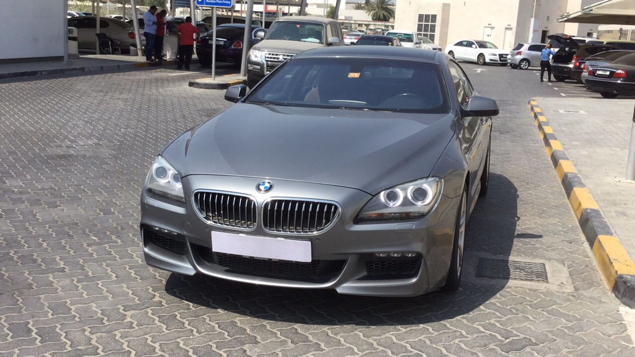 Used BMW 6-Series 2013 for sale in Dubai