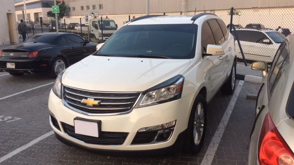 Used Chevrolet Traverse 2013 For Sale In Dubai