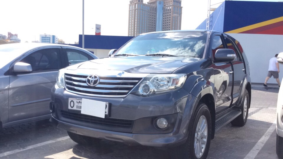 Used Toyota Fortuner 2.7L 2012 For Sale In Dubai