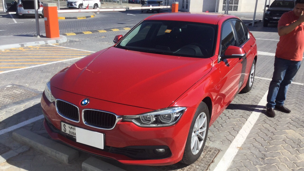 Used BMW 3-Series  2016 for sale in Dubai