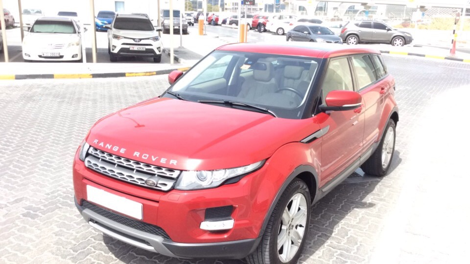 Used Land Rover Range Rover Evoque 2013 for sale in Dubai