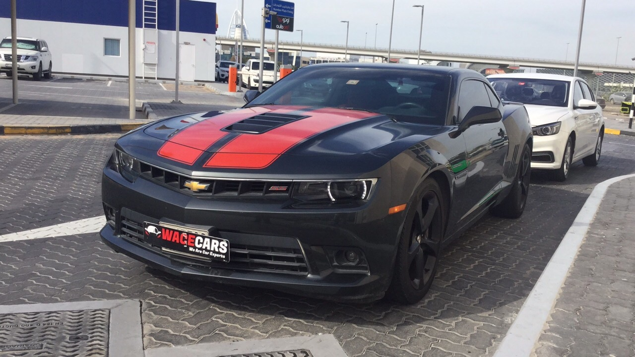 Used Chevrolet Camaro SS Coupe 2015 For Sale In Dubai