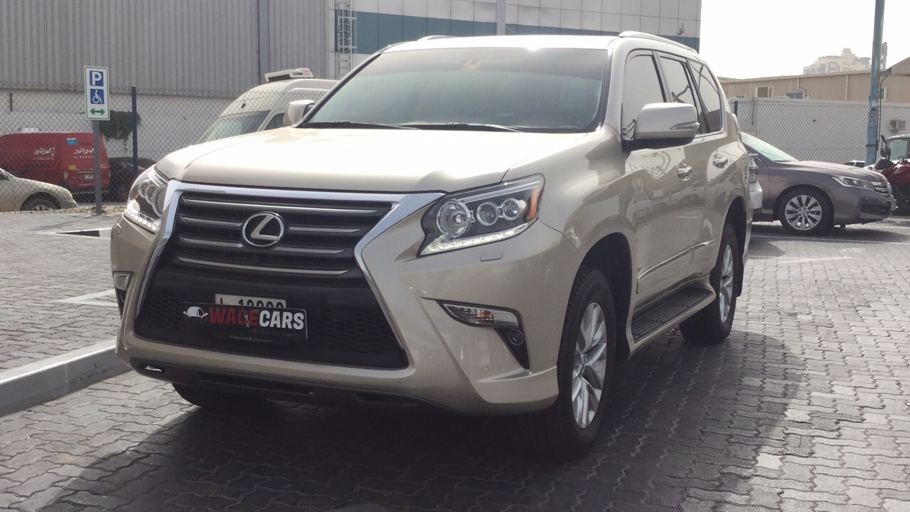 Used Lexus GX 2016 For Sale In Dubai
