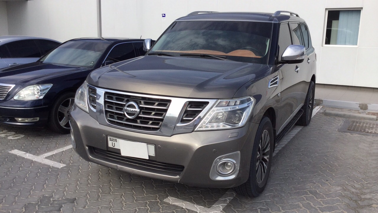Used Nissan Patrol 2015 for sale in Dubai