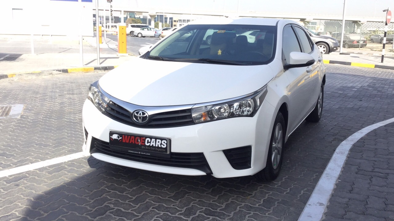 Used Toyota Corolla 2016 for sale in Dubai