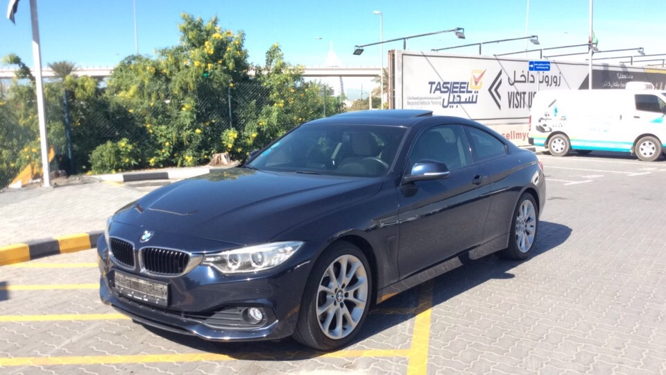 Used BMW 4-Series 2015 For Sale In Dubai