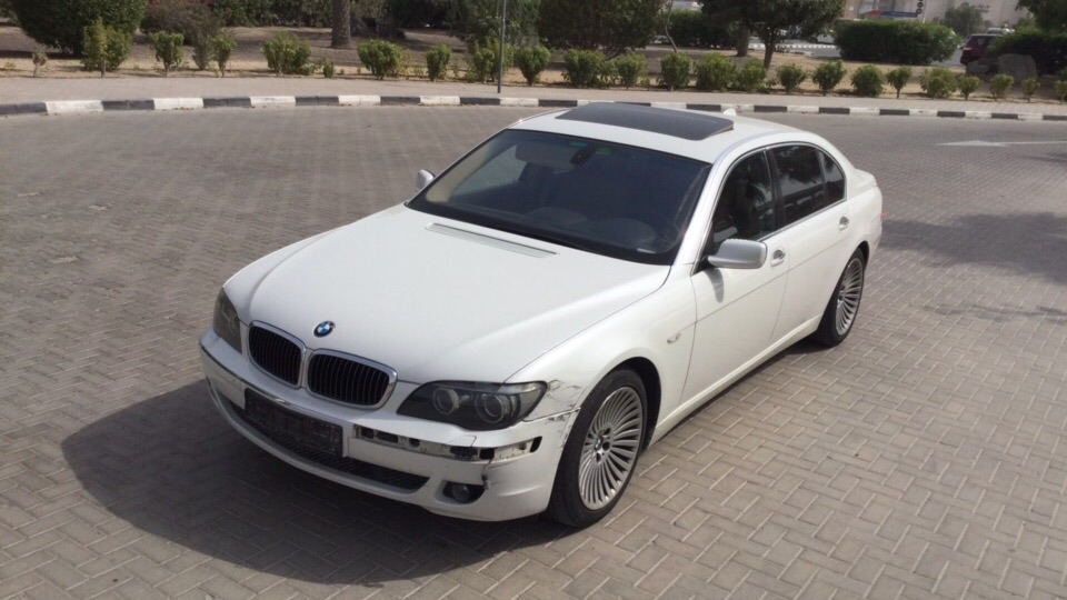 Used BMW 7-Series 2008 For Sale In Dubai