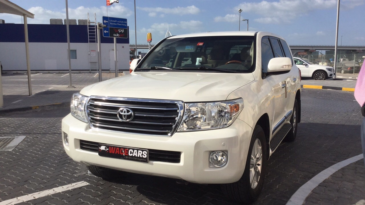 Used Toyota Land Cruiser 4.0L EXR 2014 For Sale In Dubai