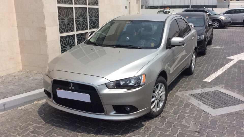 Used Mitsubishi Lancer 2015 For Sale In Dubai