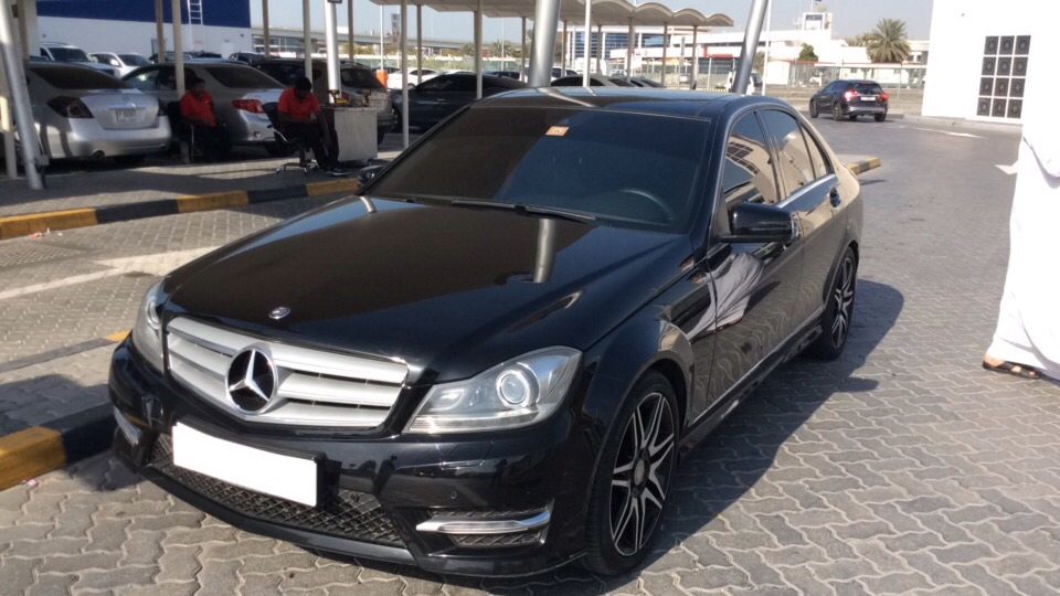 Used Mercedes-Benz C-Class 2014 for sale in Dubai