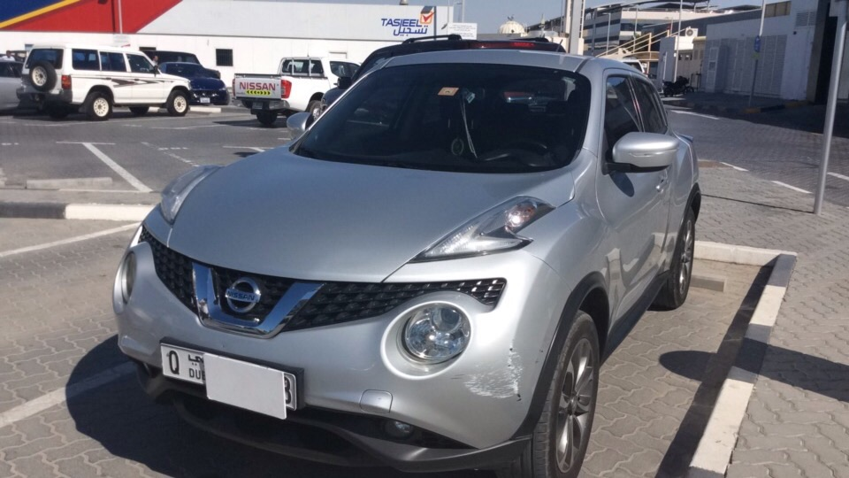 Used Nissan Juke 2015 for sale in Dubai